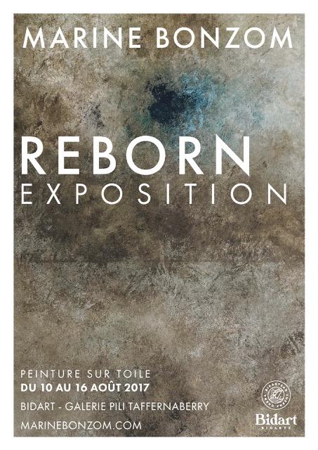 Marine Bonzom - Artiste Peintre Biarritz - Reborn Exposition