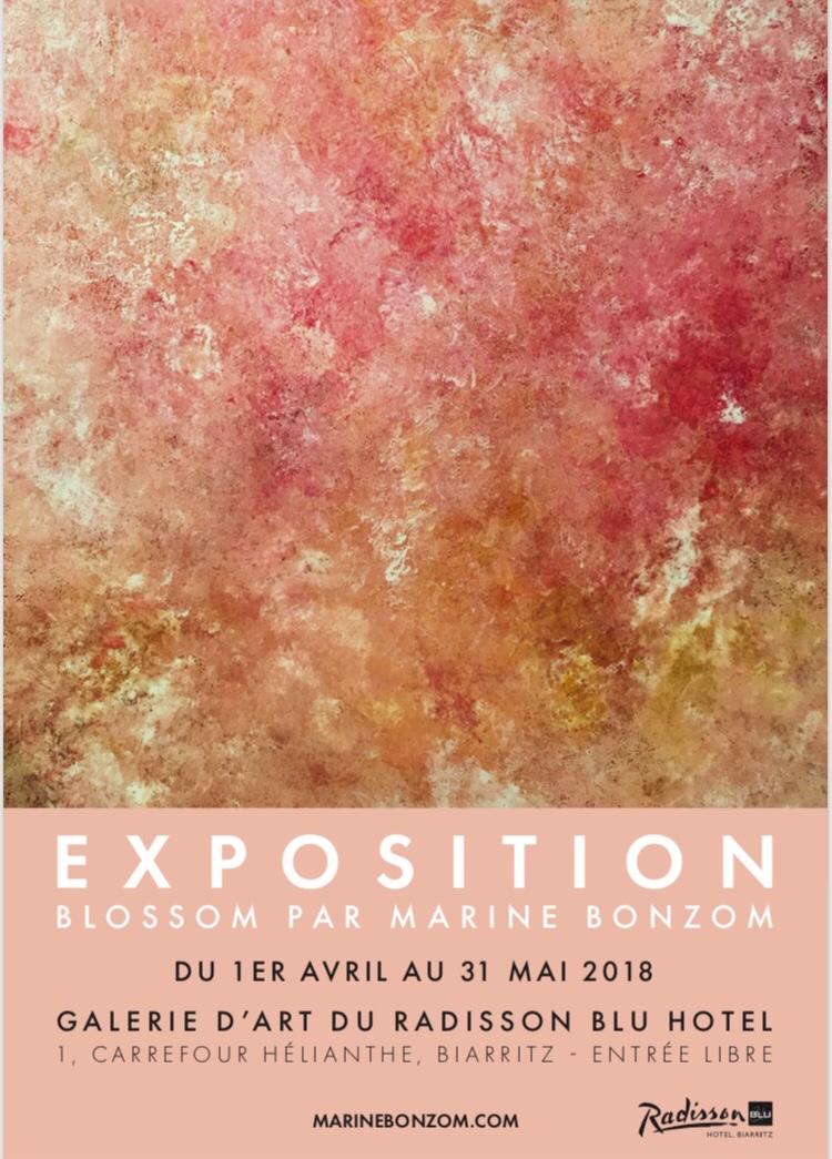 tiste Peintre Biarritz - Blossom Exposition