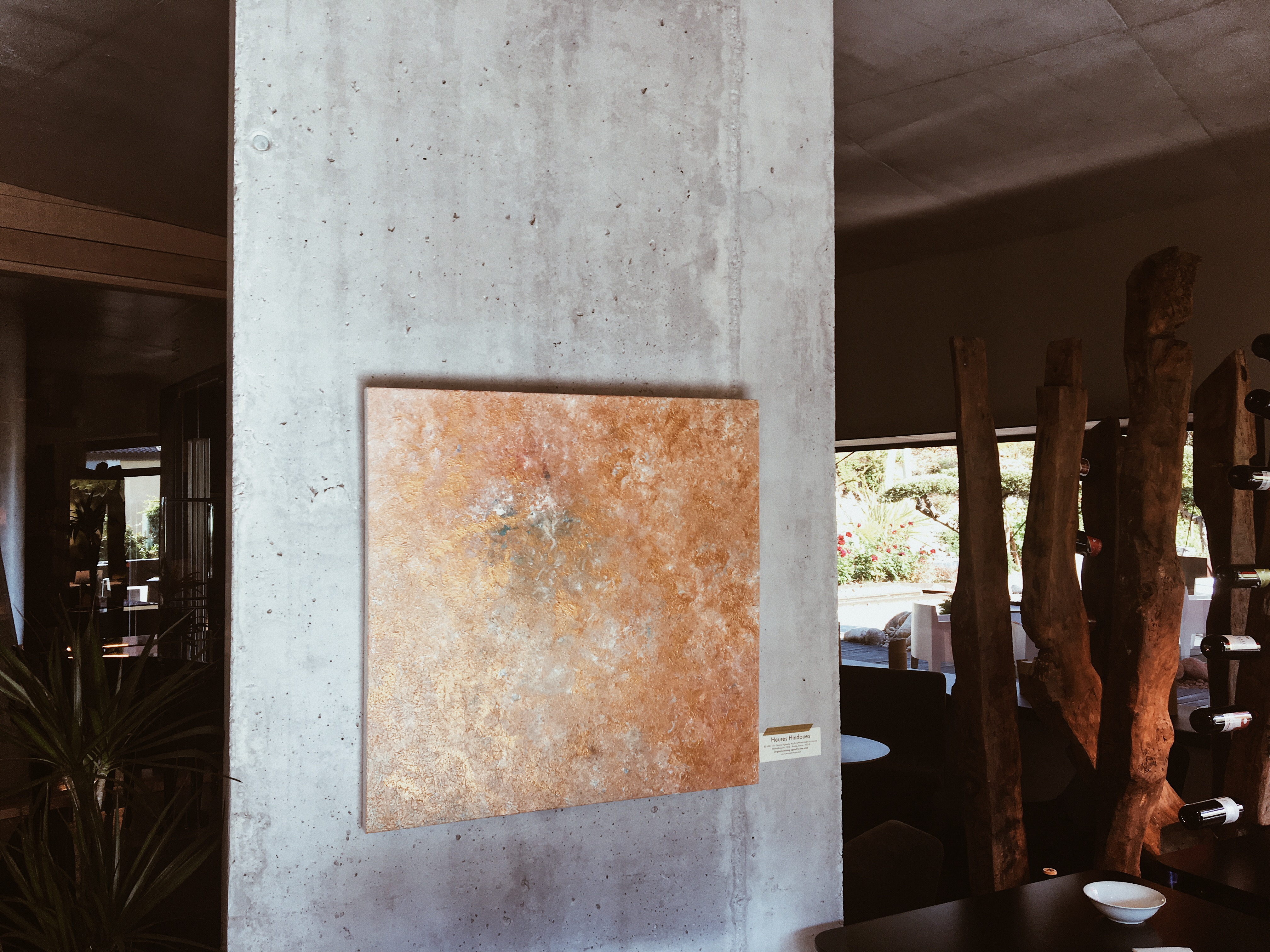 Marine Bonzom - Artiste Peintre Biarritz - Home - Heures Hindoues - Viura Hotel