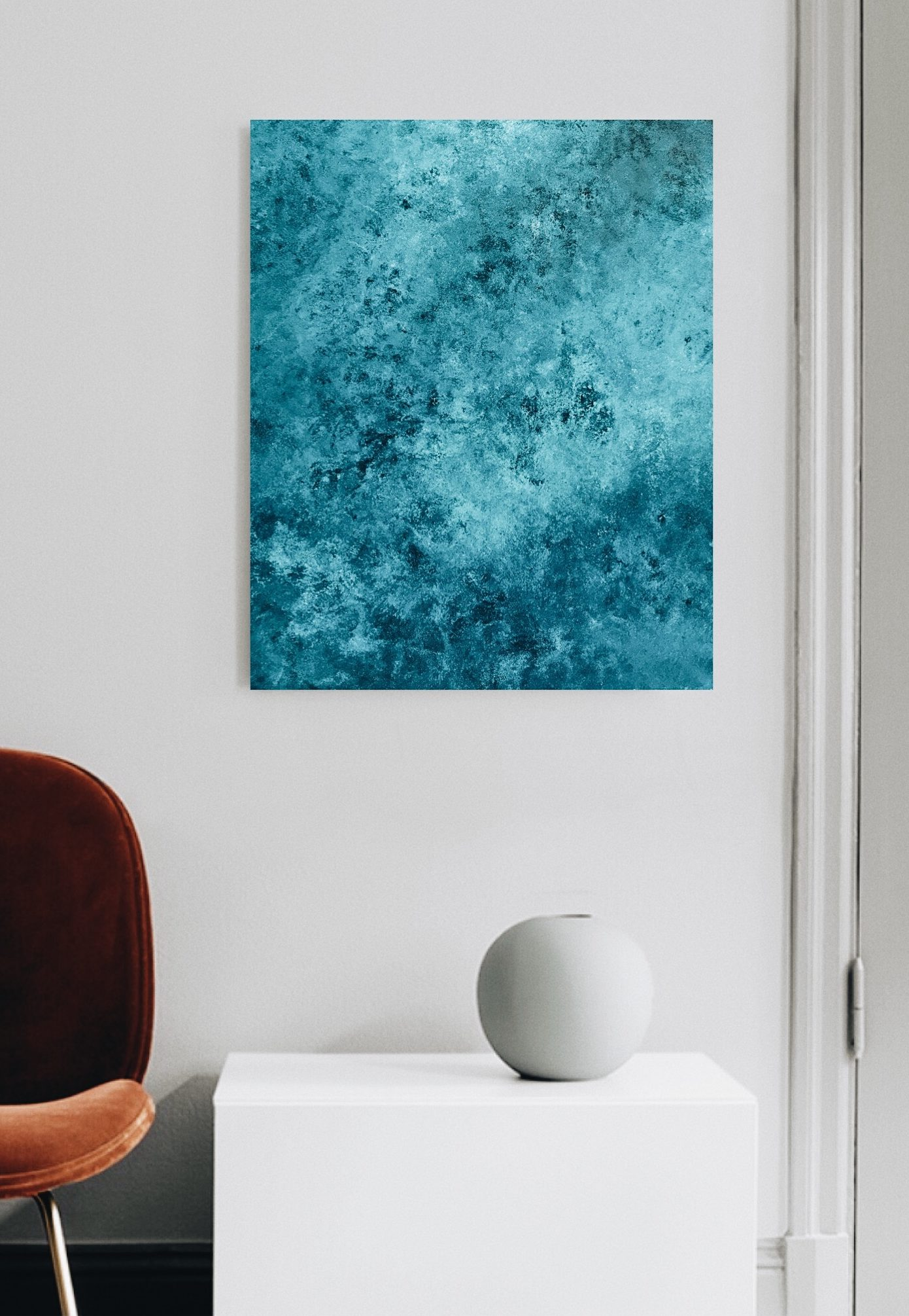 Marine Bonzom - Artiste Peintre Biarritz - Home - Oh My Blue I I