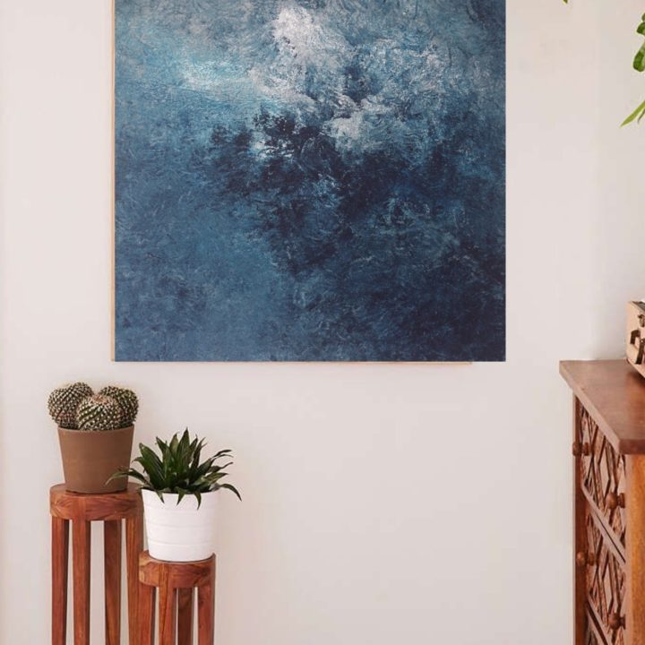Marine Bonzom - Artiste Peintre Biarritz - Home - Puncak Jaya I