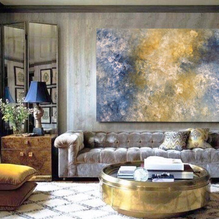 Marine Bonzom - Artiste Peintre Biarritz - Home - Céleste