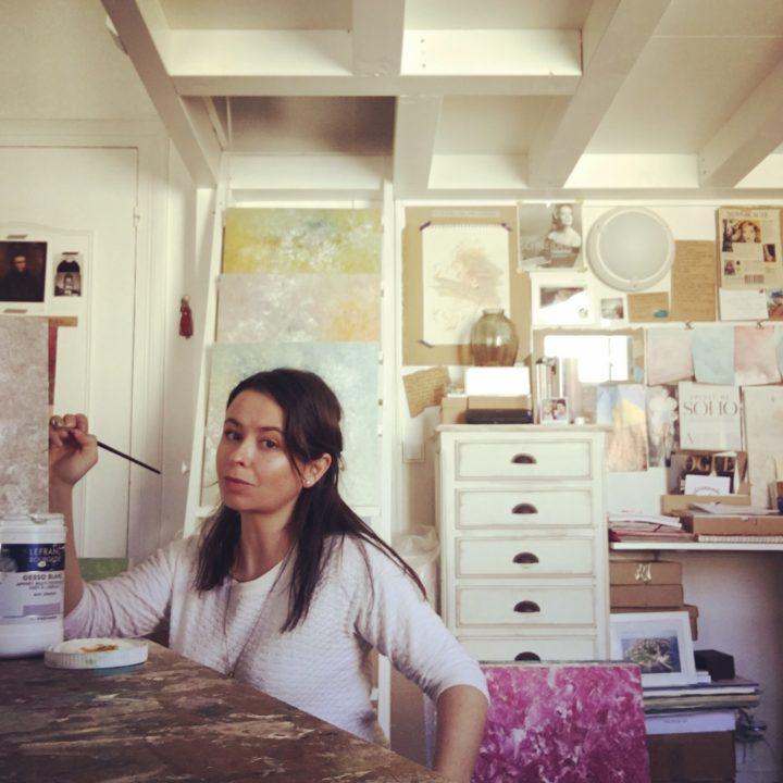Marine Bonzom - Artiste Peintre Biarritz - Atelier - 2019