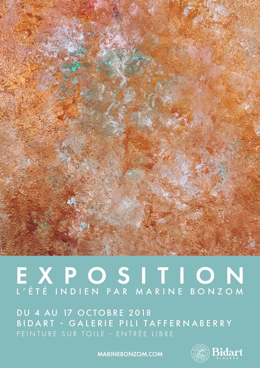 tiste Peintre Biarritz - L'été Indien - Exposition