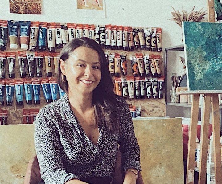 Marine Bonzom - Artiste Peintre Biarritz - Atelier - 2020