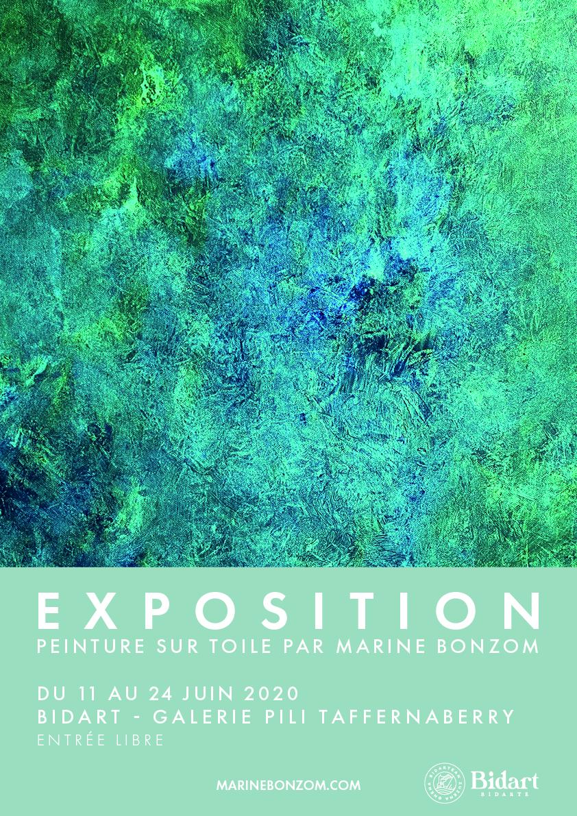 Marine Bonzom - Biarritz - Artiste Peintre - Exposition