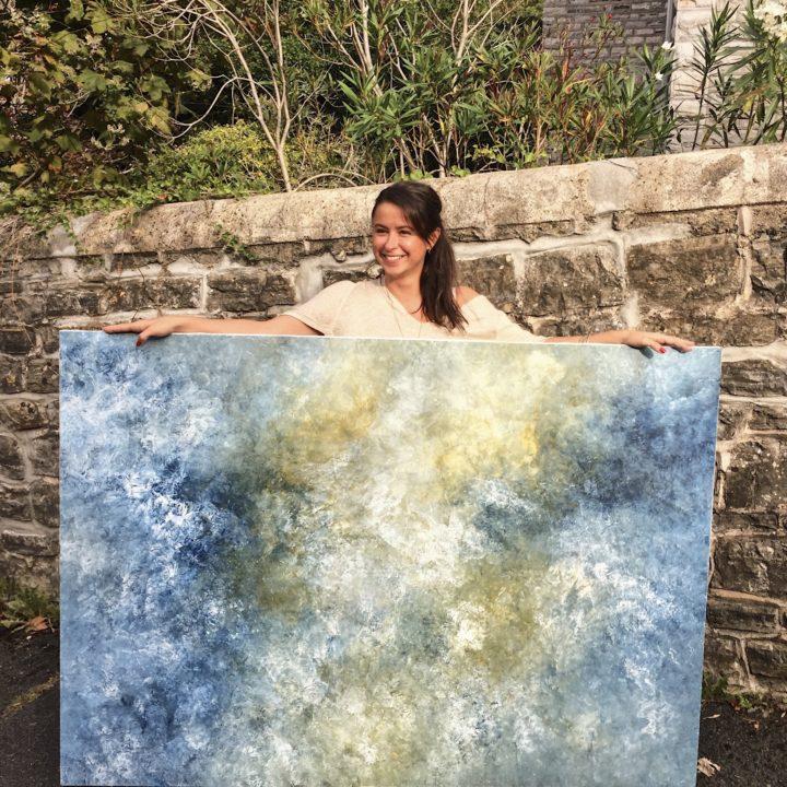 Marine Bonzom - Artiste Peintre Biarritz - Céleste - 2019