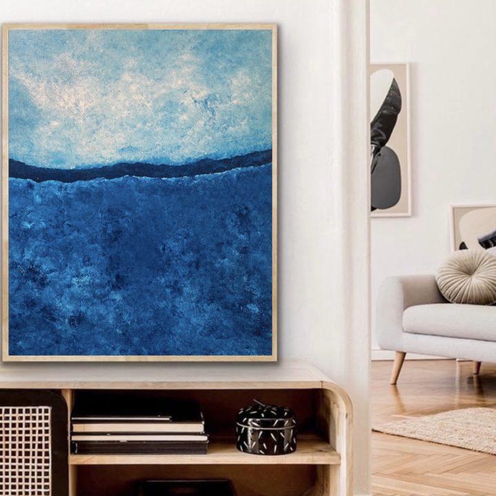Marine Bonzom - Artiste Peintre Biarritz - Home - 72 Reines