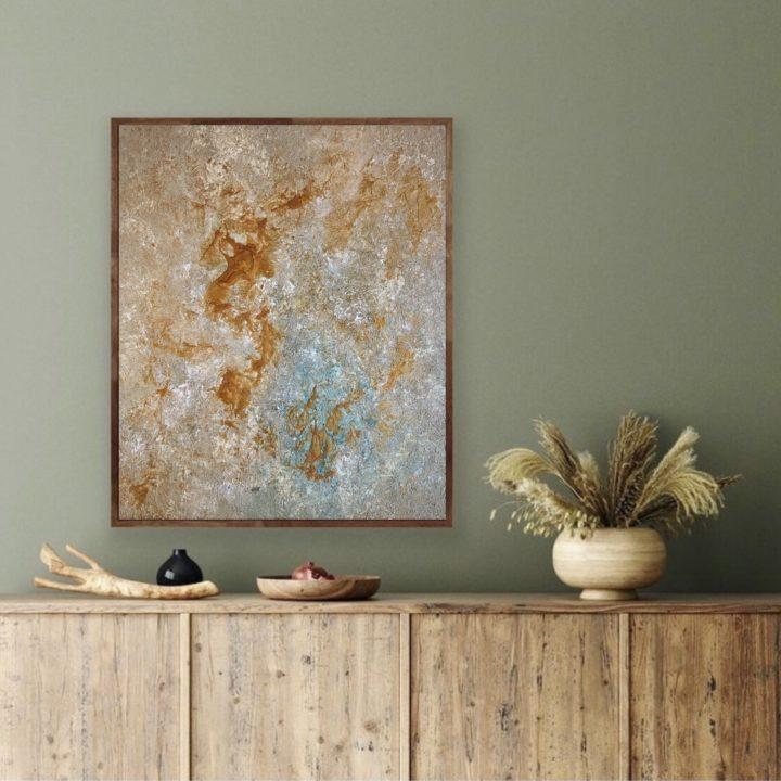 Marine Bonzom - Artiste Peintre Biarritz - Gold River - Home