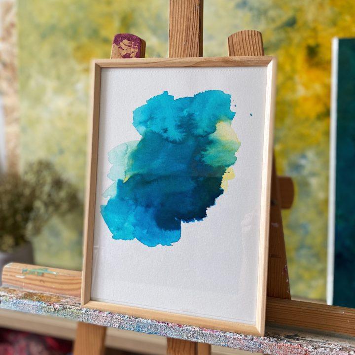 Marine Bonzom - Artiste Peintre Biarritz - Atelier - Encre Série 1